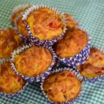 'Pizza' Savoury Lunchbox Muffins