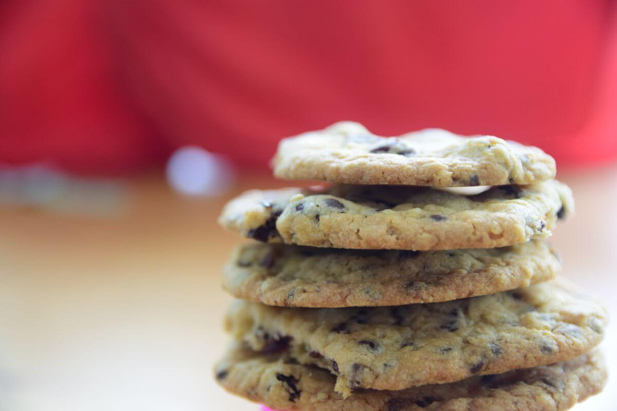 Chocolate Chips & Cranberry Oat Cookies
