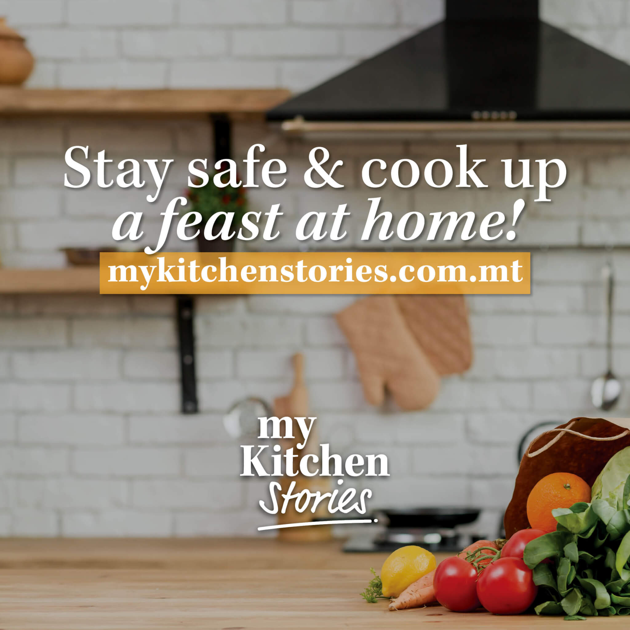 Cook a feast, stay home